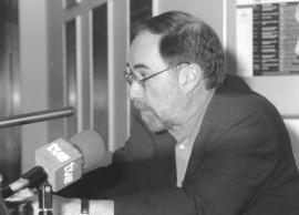 David Baltimore. Seminario Vacuna contra el SIDA (Rueda de Prensa), 1997