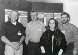 Ben de Kruijff, Félix M. Goñi, Bonnie A. Wallace y José Luis R. Arrondo. Workshop Membrane Protein Insertion Folding Dynamics, 1998