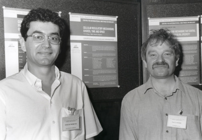 Sergio Moreno y Paul Nurse. Workshop Celular Regulatory Mechanisms Closks, Choices, Time and Space