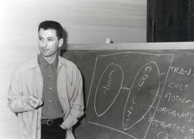 Rafael Durán. Profesor de seminario. Curso 1997-98