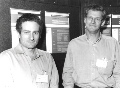 Corey S. Goodman y Roberto Gallego. Workshop Wiring the Brain Mechanisms that Control the Generation of Neural Specificity
