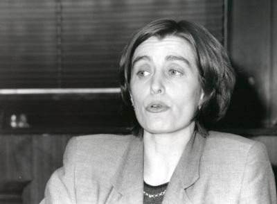 Sofía Pérez. Profesora de seminario. Curso 1998-99