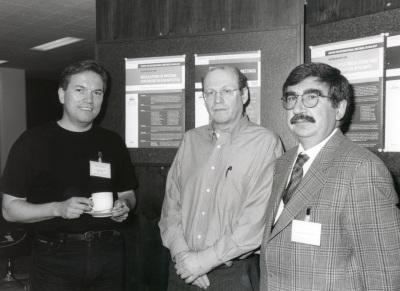 Matthias W. Hentze, Nahum Sonenberg y César de Haro. Workshop Regulation of Protein Synthesis in Eukaryotes