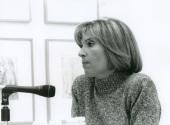 Lourdes Cirlot en el curso sobre Conocimiento del Arte Contemporáneo, 1997