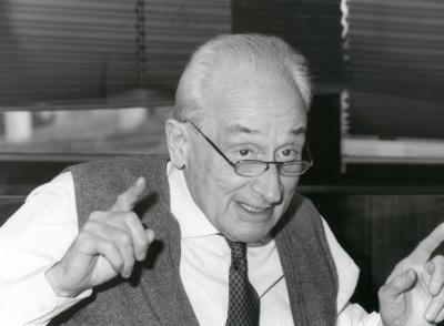 Giovanni Sartori. Profesor de seminario. Curso 1998-99
