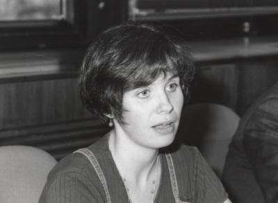 Sonia Alonso. Profesora de seminario. Curso 1998-99