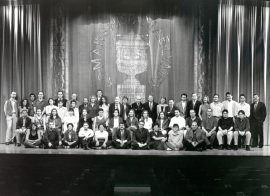 Acto de fin de curso del Centro de Estudios Avanzados en Ciencias Sociales (CEACS), 1999
