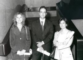 Edurne Gandarias Eiguren, Luis Ortiz Gervasi y Araceli García del Soto. Doctores  en Ciencias Sociales, 1999