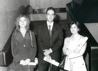 Edurne Gandarias Eiguren, Luis Ortiz Gervasi y Araceli García del Soto. Doctores en Ciencias Sociales