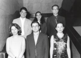 Pablo González Álvarez, Irene Martín Cortés, Kerman Calvo Borobia, Laura Morales Díez, Francisco Herreros Vázquez y María Jiménez Buedo. Maestros en Ciencias Sociales, 1999