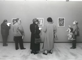 Vista parcial de la exposición Amadeo de Souza-Cardoso, 1998