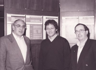 Enrique Palacián, James T. Kadonaga y Juan Ausió. Workshop Integration of Transcriptional Regulation and Chromatin tructure