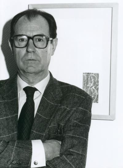 Rafael Canogar. Exposición El objeto del arte