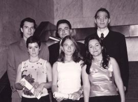 Carlos Mulas Granados, Juan Rafael Morillas Martínez, Pablo Lledó Callejón, Yolanda Bravo Vergel, Elisa Díaz Martínez y Henar Criado Olmos. Maestros en Ciencias Sociales, 2000