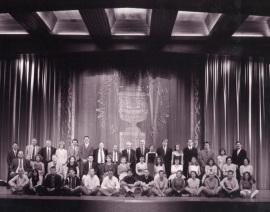 Acto de fin de curso del Centro de Estudios Avanzados en Ciencias Sociales (CEACS), 2000