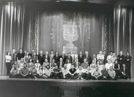 Acto de fin de curso del Centro de Estudios Avanzados en Ciencias Sociales (CEACS), 2001