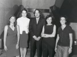 Amparo González Ferrer, Dulce Manzano Espinosa, José Fernández Albertos, Teresa Martín García y Gracia Trujillo Barbadillo. Maestros en Ciencias Sociales, 2001