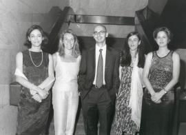 Elena Mª García-Guereta, María Asensio Menchero, Javier García de Polavieja, Fraile Maldonado,Marta y María Fernández Mellizo-Soto. Doctores en Ciencias Sociales, 2001