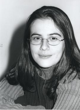 Inmaculada Serrano Sanguilinda. Estudiante. Curso 2001-02, 2001