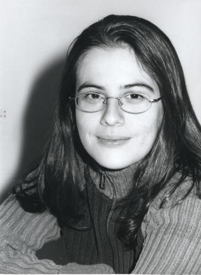 Inmaculada Serrano Sanguilinda. Estudiante. Curso 2001-02