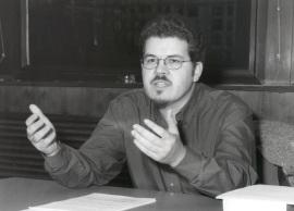Javier Astudillo. Profesor de seminario. Curso 2001-02, 2001
