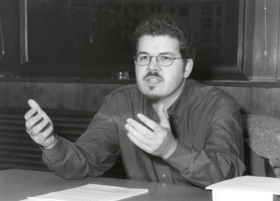 Javier Astudillo. Profesor de seminario. Curso 2001-02