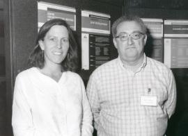 Sara Hake y José Luis Micol. Workshop Leaf Development, 2002