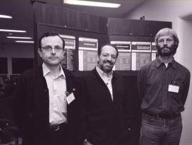 Antonio Ferrer-Montiel, Juan Lerma y Thomas J. Jentsch. Workshop Channelopathies, 2002