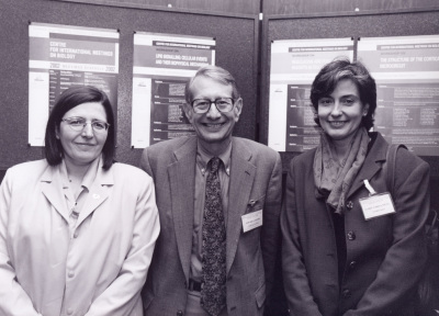 Alicia Alonso, Edward A. Dennis y Isabel Varela Nieto. Workshop Lipid Signalling Cellular Events and Their Biophysical Mechanisms