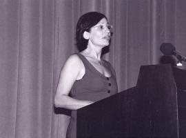 Yasemin Soysal. Profesora de seminario. Curso 1997-98, 2002