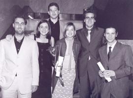 Rubén Ruíz Rufino, Sandra León, Ignacio Lago Peñas, Leire Salazar Valez, Ferrán Martínez I Coma y Andrés Santana Leitner. Maestros en Ciencias Sociales, 2002