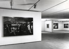 Vista parcial de la exposición Paul Delvaux, 1998
