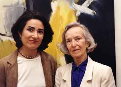 Lisa Guerrero y Roxanne Whittier. Exposición José Guerrero Obra sobre papel (1970-1985)