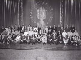 Acto de fin de curso del Centro de Estudios Avanzados en Ciencias Sociales (CEACS), 2003