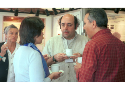 Mathilde Causse, Avraham Levy y Mondher Bouzayen. Workshop The Making of a Fruit from Genes to Molecules to Phenotype