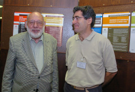 Walter J. Gehring y Emili Saló. Workshop The Genetic Control of Eye Development and its Evolutionary Implications, 2004