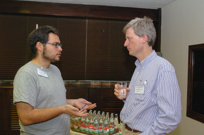Luis M. Escudero y Matthew Freeman. Workshop