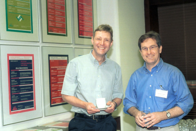 Ernt Hafen y Michel Hall. Workshop The Proteins Controlling Cell Growth and their in Tumour Formation mTOR,TSC and PTEN