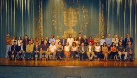 Acto de fin de curso del Centro de Estudios Avanzados en Ciencias Sociales (CEACS), 2004