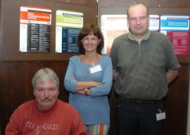 Carmen Castresana, Jeff Dangl y Paul Schulze-Lefert. Workshop Disease Resistance and Related Signalling Mechanisms in Plants., 2004