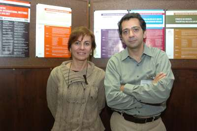 Isabel Guerrero y Ariel Ruiz i Altaba. Workshop Interpreting Hedgehog-Gli Signalling