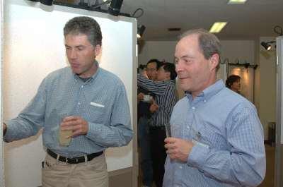 Christian Dahmann y Thomas Kornberg. Workshop Interpreting Helgehog-Gli Signalling