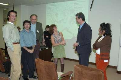 Marcelo G. Kazanietz, Peter J. Parker, Alex Toker, Alexandra C. Newton y Benafshe Laritani. Workshop Molecular Advances in DAG Signalling