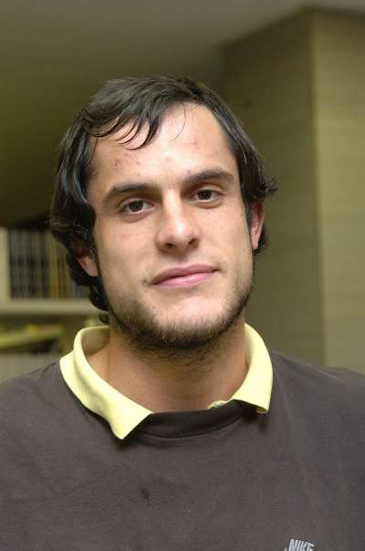 Alfonso Echezarra de Gregorio. Estudiante. Curso 2004-05