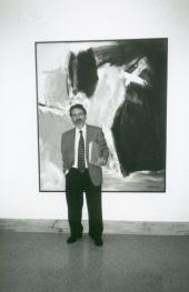 Daniel Giralt-Miracle en el curso sobre Expresionismo Abstracto Americano, 1999