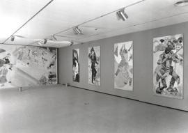 Vista parcial de la exposición Marc Chagall. Tradiciones judías, 1999