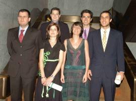 Sebastián Lavezzolo Pérez, Didac Queralt Jiménez, Pedro Riera Sagrera,  MªJosé Hierro Hernández, Margarita Torre Fernández y Alfonso Echezarra de Gregorio. Maestros en Ciencias Sociales, 2007