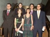 Sebastián Lavezzolo Pérez, Didac Queralt Jiménez, Pedro Riera Sagrera,  MªJosé Hierro Hernández, Margarita Torre Fernández y Alfonso Echezarra de Gregorio. Maestros en Ciencias Sociales