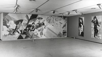 Vista parcial de la exposición Marc Chagall. Tradiciones judías