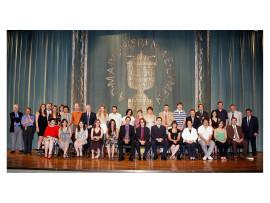 Acto de fin de curso del Centro de Estudios Avanzados en Ciencias Sociales (CEACS), 2009